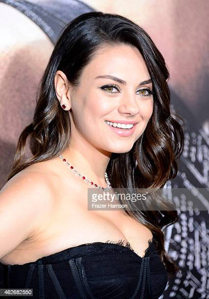 Actress Mila Kunis attends the premiere of Warner Bros Pictures' 'Jupiter Ascending' at TCL Chinese Theatre on February 2 2015 in Hollywood California