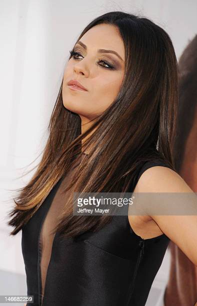 Actress Mila Kunis attends the 'Ted' World Premiere held at Grauman's Chinese Theatre on June 21 2012 in Hollywood California