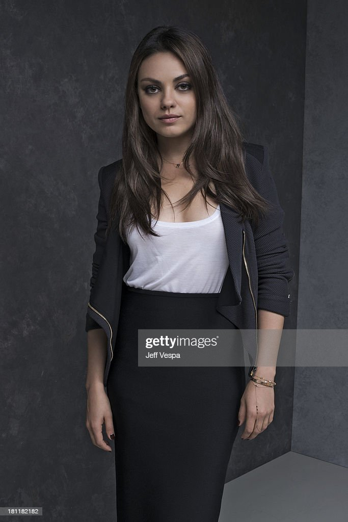 Actress <a gi-track='captionPersonalityLinkClicked' href=/galleries/search?phrase=Mila+Kunis&family=editorial&specificpeople=212845 ng-click='$event.stopPropagation()'>Mila Kunis</a> is photographed at the Toronto Film Festival on September 10, 2013 in Toronto, Ontario.