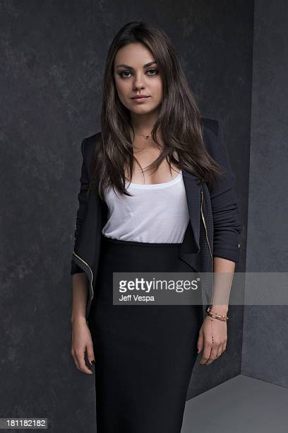 Actress Mila Kunis is photographed at the Toronto Film Festival on September 10 2013 in Toronto Ontario
