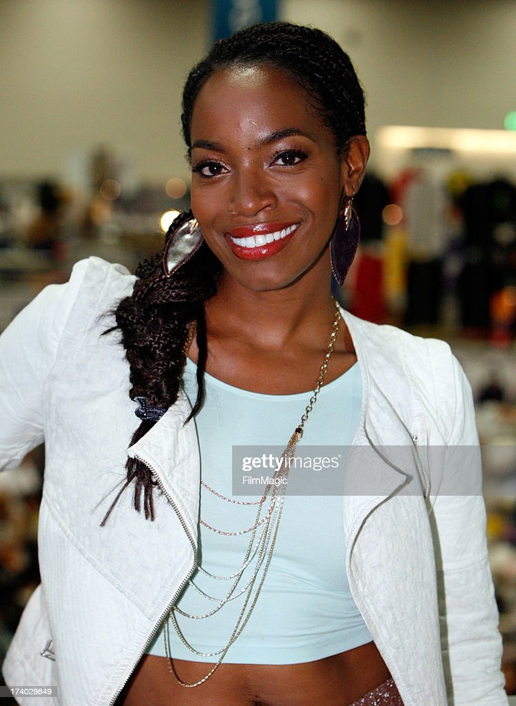 Actress Milauna Jackson attends Cinemax's 'Strike Back' cast autograph signing at San Diego Convention Center on July 19, 2013 in San Diego, California.