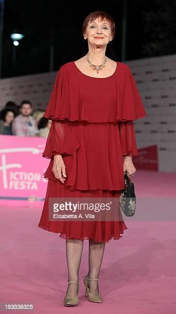 Actress Milena Vukotic attends 'Un Medico In Famiglia 8' premiere during the 2012 RomaFictionFest at Auditorium Parco della Musica on October 3 2012...