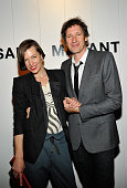 Actress Milla Jovovich and Paul W S Anderson attend Isabel Marant Milla Jovovich BBQ party to celebrate the 1st Year of he LA Shop at Isabel Marant...