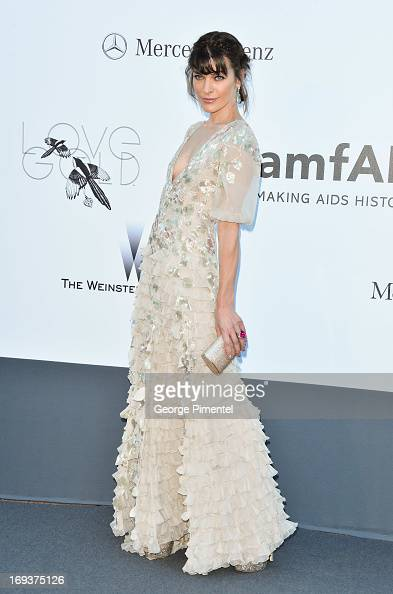 Actress Milla Jovovich arrives at amfAR's 20th Annual Cinema Against AIDS at Hotel du CapEdenRoc on May 23 2013 in Cap d'Antibes France