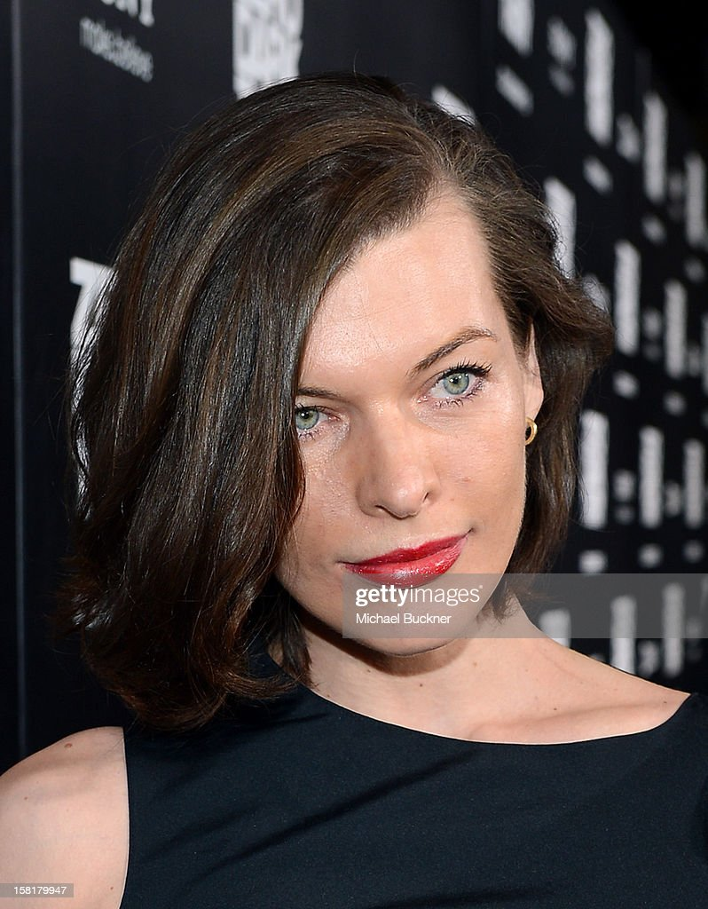Actress Milla Jovovich arrives at the Los Angeles premiere of Columbia Pictures' 'Zero Dark Thirty' at Dolby Theatre on December 10, 2012 in Hollywood, California.
