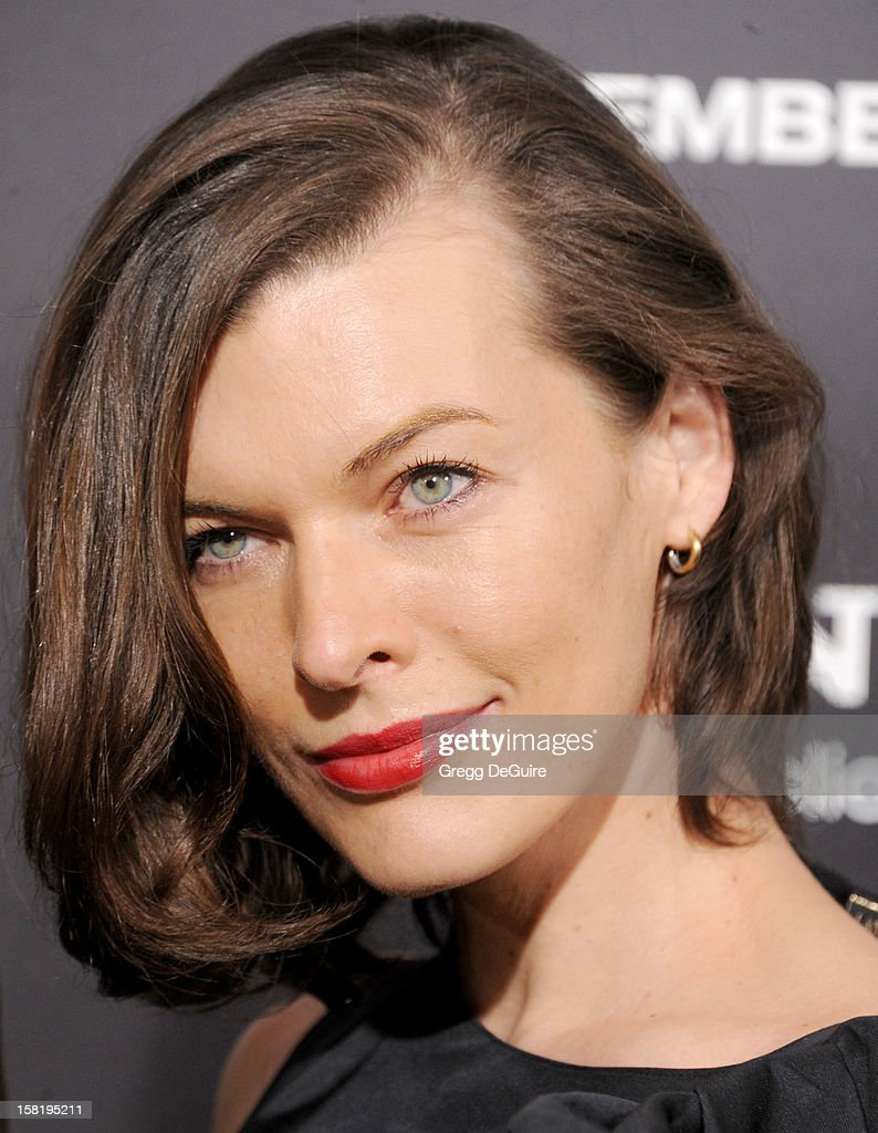 Actress Milla Jovovich arrives at the Los Angeles premiere of 'Zero Dark Thirty' at the Dolby Theatre on December 10, 2012 in Hollywood, California.