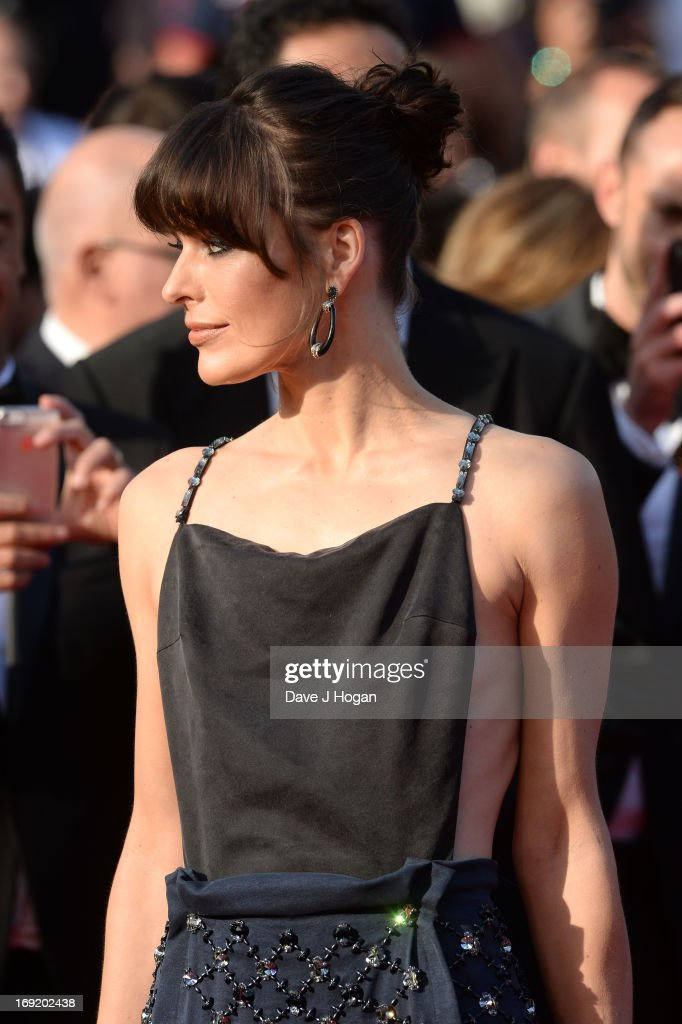 Actress Milla Jovovich attends the 'Cleopatra' premiere during The 66th Annual Cannes Film Festival at The 60th Anniversary Theatre on May 21, 2013 in Cannes, France.