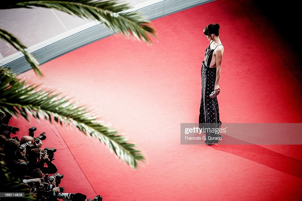 Actress <a gi-track='captionPersonalityLinkClicked' href=/galleries/search?phrase=Milla+Jovovich&family=editorial&specificpeople=202207 ng-click='$event.stopPropagation()'>Milla Jovovich</a> attends the 'Cleopatra' premiere during The 66th Annual Cannes Film Festival at The 60th Anniversary Theatre on May 21, 2013 in Cannes, 2013 in Cannes, France.