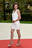 Actress Milla Jovovich attends the 'Cymbeline' premiere during the 71st Venice Film Festival on September 3 2014 in Venice Italy