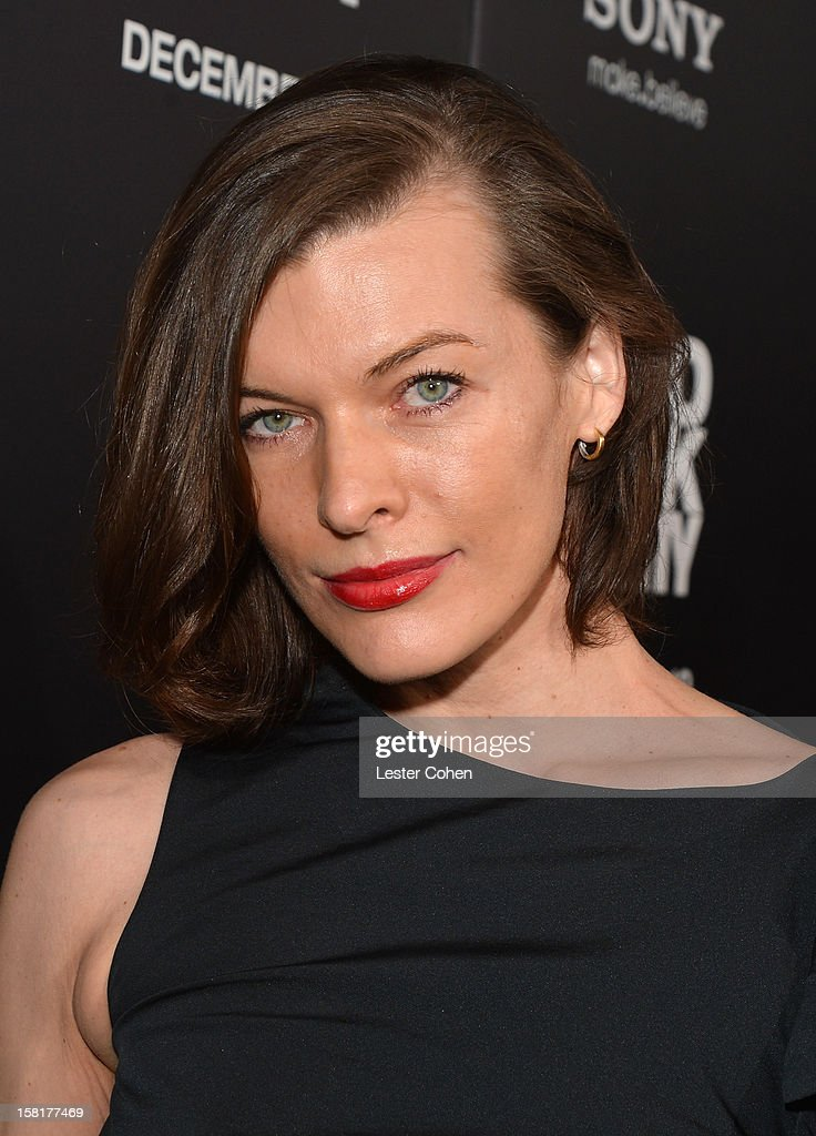 Actress Milla Jovovich attends the 'Zero Dark Thirty' Los Angeles Premiere at Dolby Theatre on December 10, 2012 in Hollywood, California.