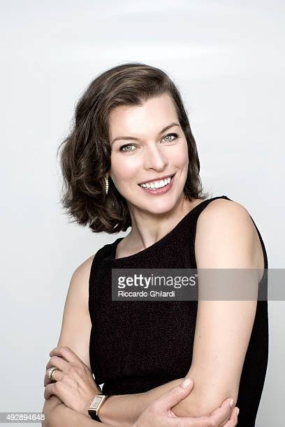 Actress Milla Jovovich is photographed for Gioia Magazine in Venice Italy