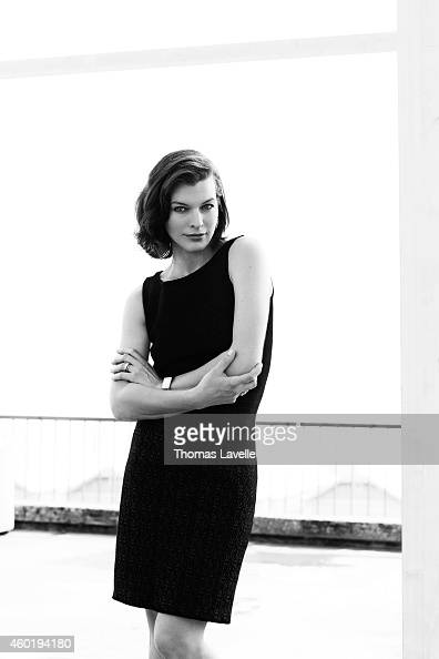 Actress Milla Jovovich is photographed for GQ Italy on September 7 2014 in Venice Italy