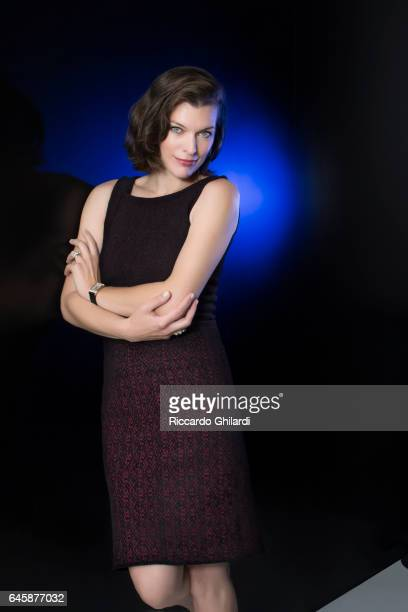 Actress Milla Jovovich is photographed for Self Assignment in Venice Italy
