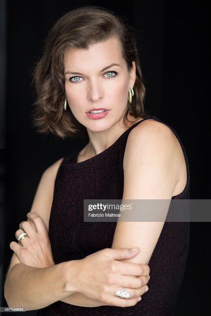 Actress <a gi-track='captionPersonalityLinkClicked' href=/galleries/search?phrase=Milla+Jovovich&family=editorial&specificpeople=202207 ng-click='$event.stopPropagation()'>Milla Jovovich</a> is photographed for Self Assignment on September 1, 2014 in Venice, Italy.