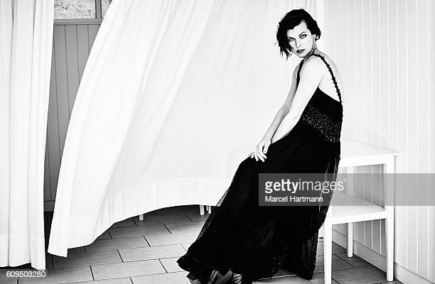 Actress Milla Jovovich is photographed for Vanity Fair Italy on May 19 2016 in Cannes France