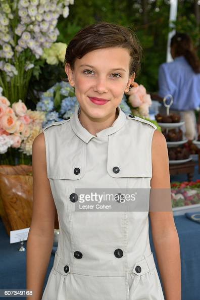 Actress Millie Bobby Brown at the ICM Partners PreEmmy Brunch on September 17 2016 in Santa Monica California