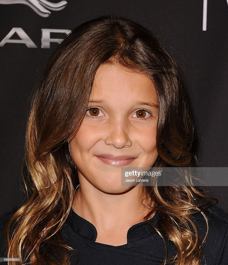 Actress Millie Bobby Brown attends the BAFTA Los Angeles TV Tea Party at SLS Hotel on August 23, 2014 in Beverly Hills, California.