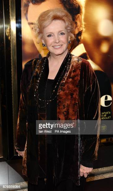 Actress Milllicent Martin arrives for the world charity premiere of Alfie at the Empire Leicester Square in central London in aid of MakeAWish...