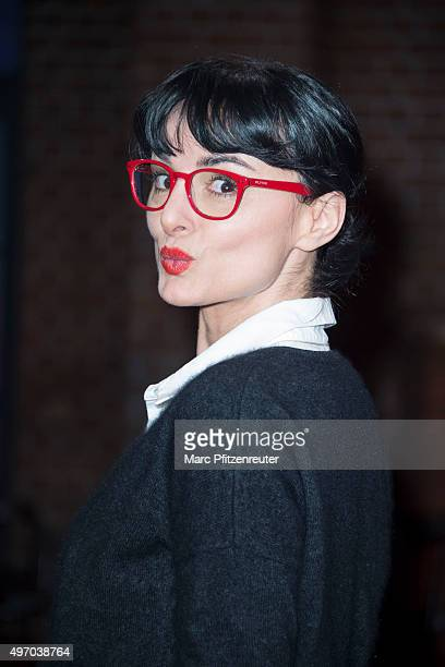 Actress Mimi Fiedler attends the 'Koelner Treff' TV Show at the WDR Studio on November 13 2015 in Cologne Germany