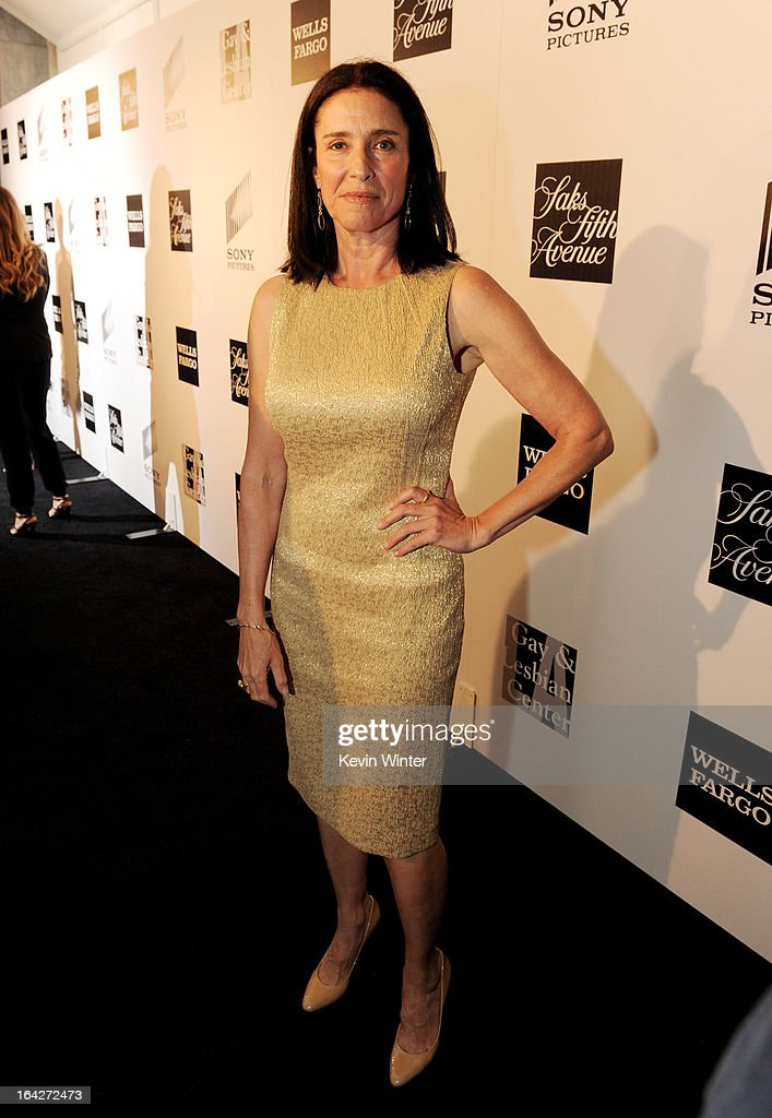 Actress Mimi Rogers arrives at 'An Evening' benifiting The L.A. Gay & Lesbian Center at the Beverly Wilshire Hotel on March 21, 2013 in Beverly Hills, California.