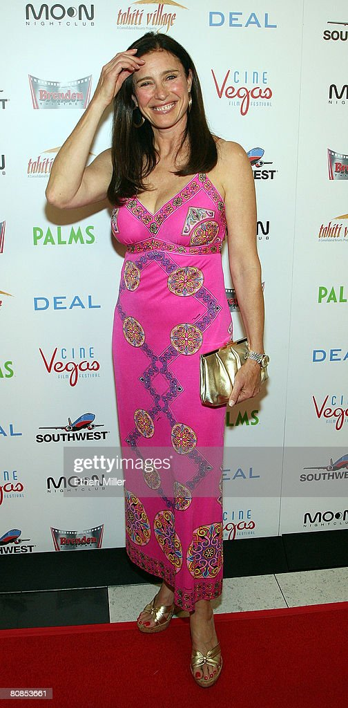Actress Mimi Rogers arrives at the world premiere of the movie 'Deal' at the Brenden Theatres inside the Palms Casino Resort April 24, 2008 in Las Vegas, Nevada.