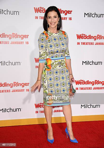 Actress Mimi Rogers attends the premiere of 'The Wedding Ringer' at TCL Chinese Theatre on January 6 2015 in Hollywood California