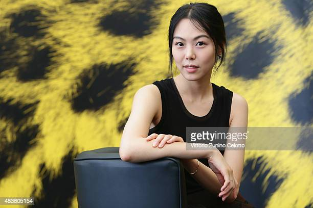 Actress Min hee Kim attends Right Now Wrong Then photocall on August 13 2015 in Locarno Switzerland