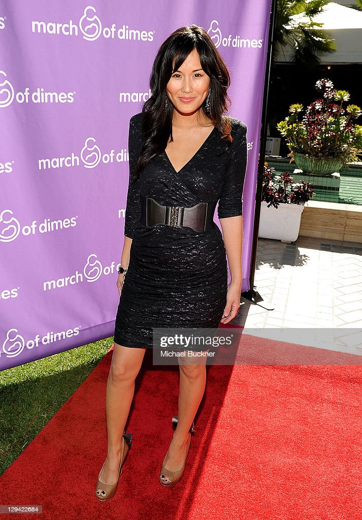 Actress <a gi-track='captionPersonalityLinkClicked' href=/galleries/search?phrase=Minae+Noji&family=editorial&specificpeople=2489216 ng-click='$event.stopPropagation()'>Minae Noji</a> attends the March of Dimes Foundation & Samantha Harris Host 5th Annual Celebration of Babies Luncheon held at the Four Season Hotel Beverly Hills on November 13, 2010 in Beverly Hills, California.
