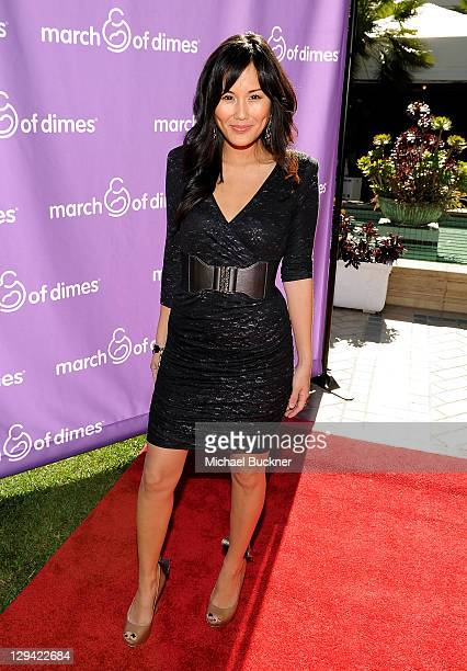 Actress Minae Noji attends the March of Dimes Foundation Samantha Harris Host 5th Annual Celebration of Babies Luncheon held at the Four Season Hotel...