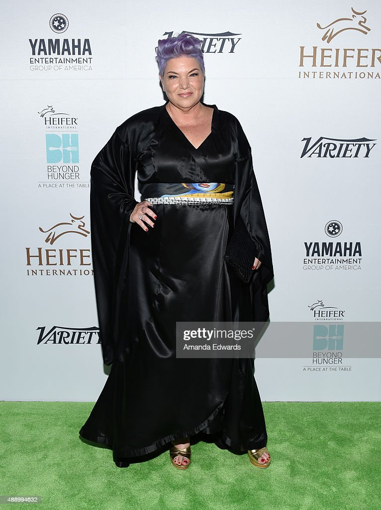 Actress Mindy Cohn arrives at the 4th Annual Beyond Hunger Gala at Montage Beverly Hills on September 18 2015 in Beverly Hills California