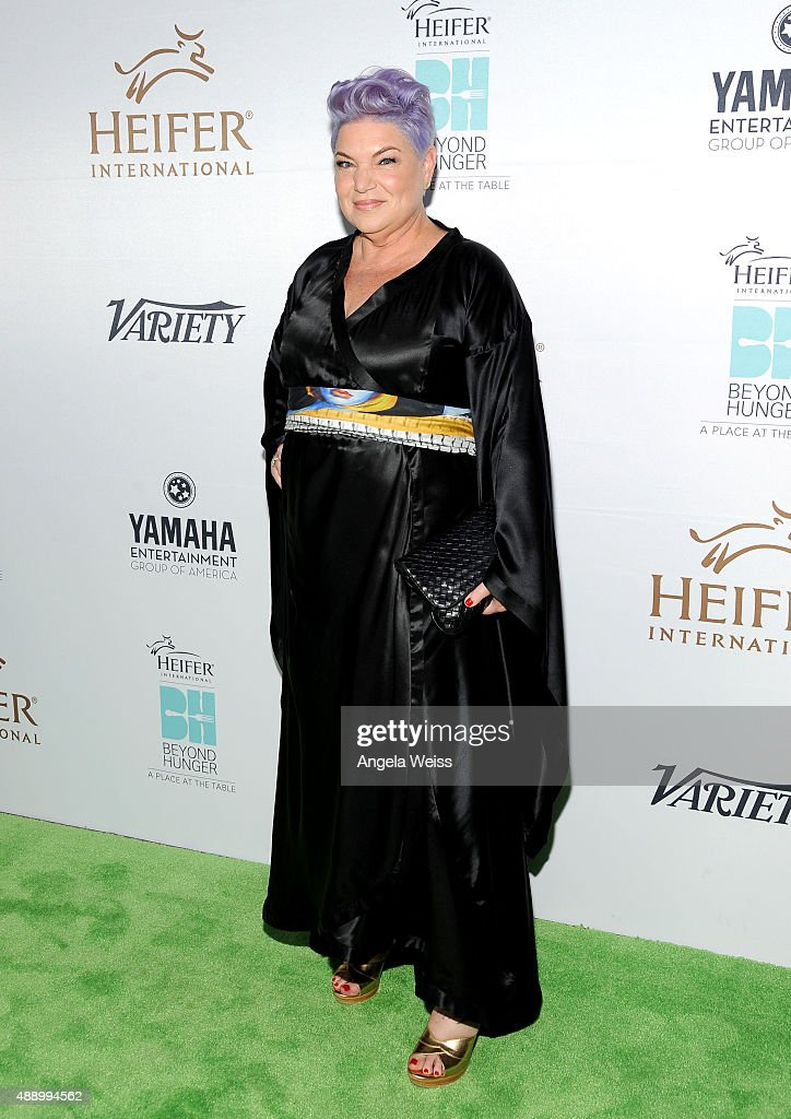 Actress Mindy Cohn attends Heifer International's 4th Annual Beyond Hunger Gala at the Montage on September 18 2015 in Beverly Hills California...