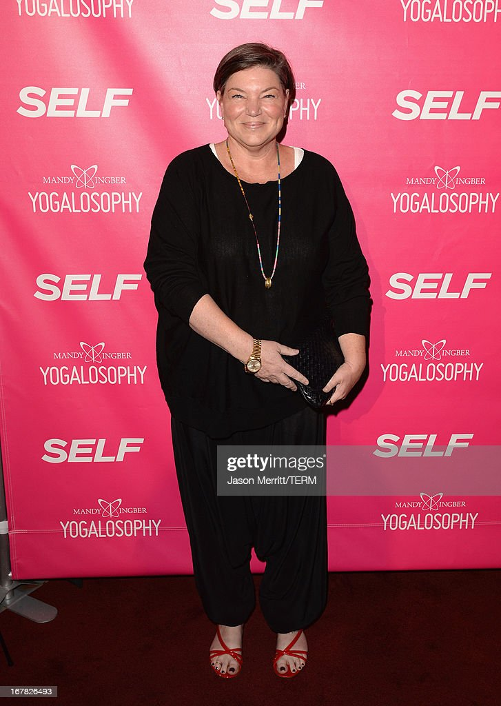 Actress Mindy Cohn attends SELF Magazine and Jennifer Aniston's celebration of Mandy Ingber's new book 'Yogalosophy 28 Days to the Ultimate MindBody...