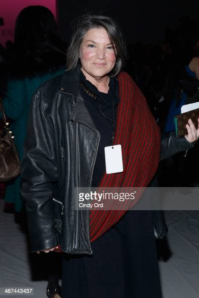Actress Mindy Cohn attends the Mark And Estel fashion show during MercedesBenz Fashion Week Fall 2014 at The Salon at Lincoln Center on February 6...
