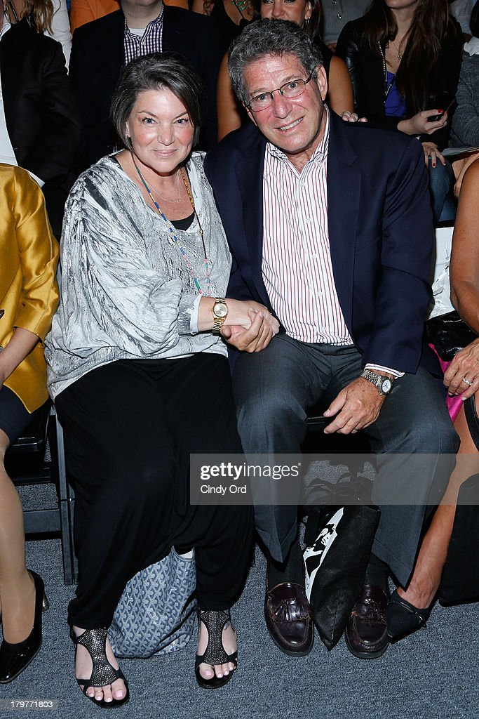 Actress Mindy Cohn attends the Mark and Estel runway show during MercedesBenz Fashion Week Spring 2014 at The Studio at Lincoln Center on September 6...