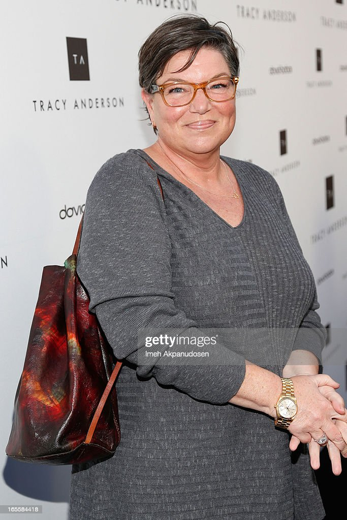 Actress <a gi-track='captionPersonalityLinkClicked' href=/galleries/search?phrase=Mindy+Cohn&family=editorial&specificpeople=574809 ng-click='$event.stopPropagation()'>Mindy Cohn</a> attends the opening of Tracy Anderson flagship studio at Tracy Anderson Flagship Studio on April 4, 2013 in Brentwood, California.