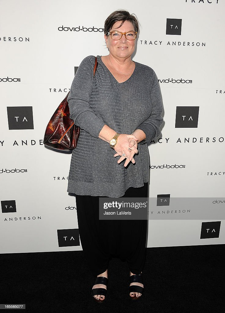 Actress Mindy Cohn attends the opening of Tracy Anderson Flagship Studio on April 4, 2013 in Brentwood, California.