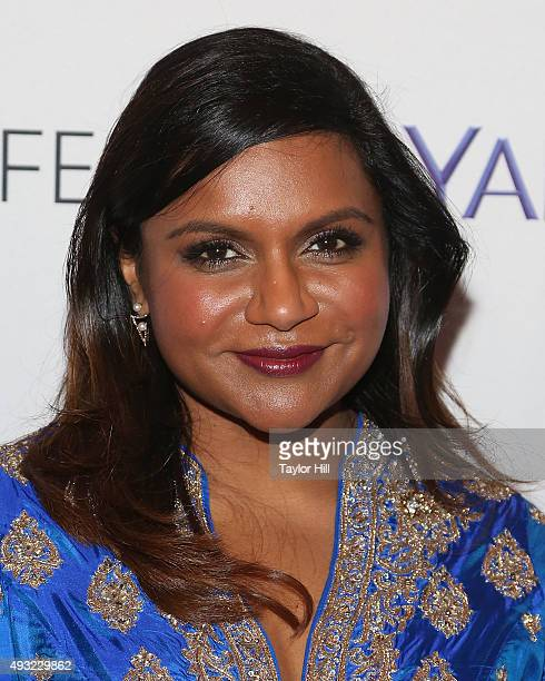Actress Mindy Kaling attends a photocall for 'The Mindy Project' at The Paley Center for Media on October 17 2015 in New York City