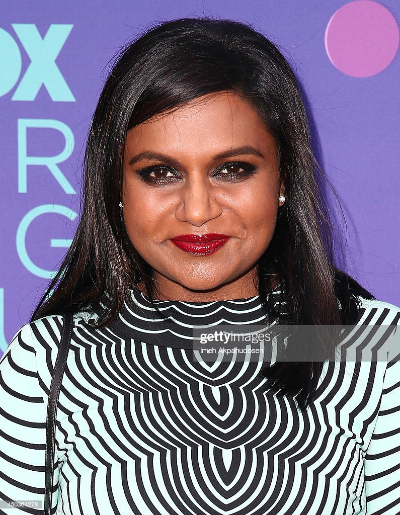 Actress <a gi-track='captionPersonalityLinkClicked' href=/galleries/search?phrase=Mindy+Kaling&family=editorial&specificpeople=743884 ng-click='$event.stopPropagation()'>Mindy Kaling</a> attends Fox's 'Girls Night Out' at Leonard H. Goldenson Theatre on June 9, 2014 in North Hollywood, California.
