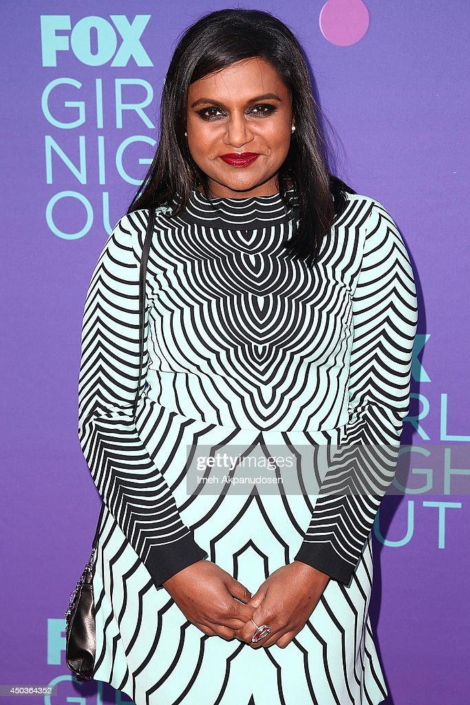 Actress Mindy Kaling attends Fox's 'Girls Night Out' at Leonard H. Goldenson Theatre on June 9, 2014 in North Hollywood, California.