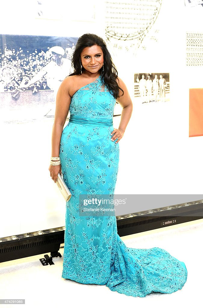 Actress <a gi-track='captionPersonalityLinkClicked' href=/galleries/search?phrase=Mindy+Kaling&family=editorial&specificpeople=743884 ng-click='$event.stopPropagation()'>Mindy Kaling</a> attends the 16th Costume Designers Guild Awards with presenting sponsor Lacoste at The Beverly Hilton Hotel on February 22, 2014 in Beverly Hills, California.