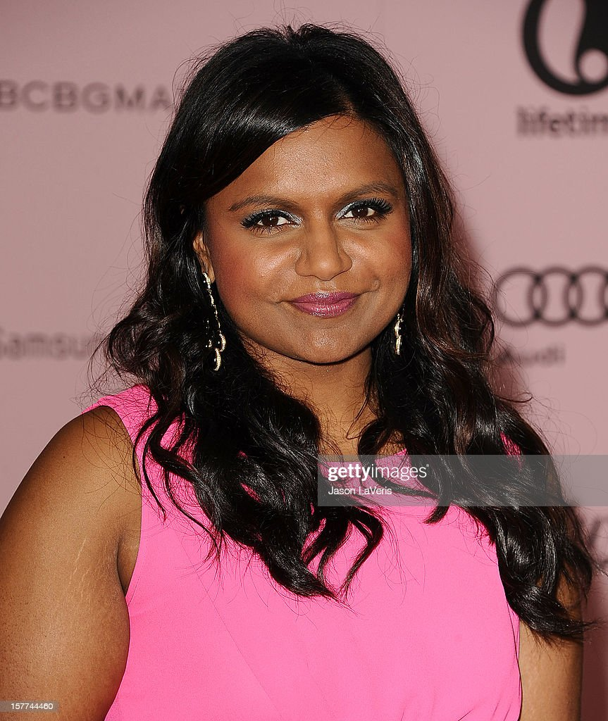 Actress <a gi-track='captionPersonalityLinkClicked' href=/galleries/search?phrase=Mindy+Kaling&family=editorial&specificpeople=743884 ng-click='$event.stopPropagation()'>Mindy Kaling</a> attends the Hollywood Reporter's 21st annual Women In Entertainment breakfast at The Beverly Hills Hotel on December 5, 2012 in Beverly Hills, California.
