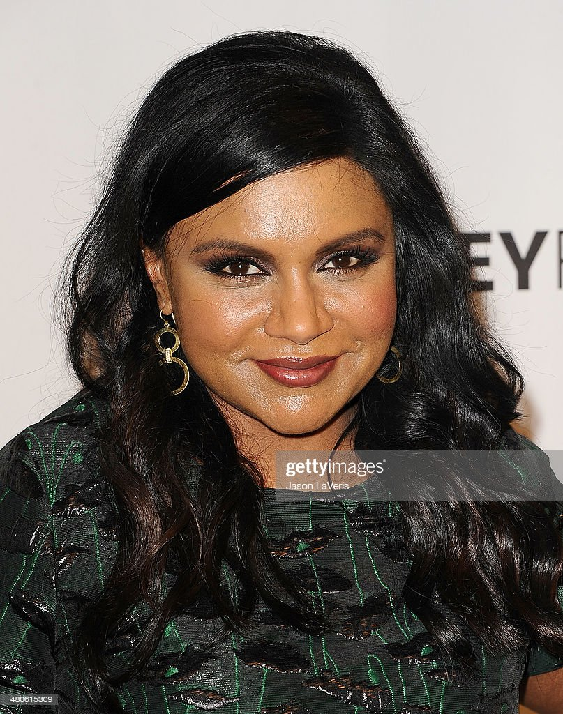 Actress Mindy Kaling attends 'The Mindy Project' event at the 2014 PaleyFest at Dolby Theatre on March 25, 2014 in Hollywood, California.