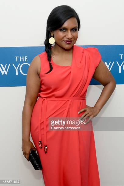 Actress Mindy Kaling attends the White House Correspondents' Dinner Weekend PreParty hosted by The New Yorker's David Remnick at the W Hotel...
