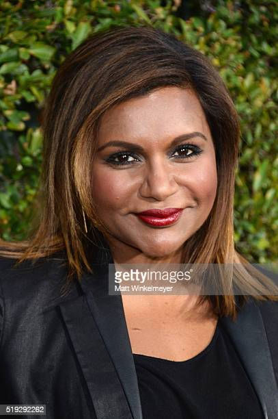Actress Mindy Kaling attends Universal Studios' 'Wizarding World of Harry Potter Opening' at Universal Studios Hollywood on April 5 2016 in Universal...
