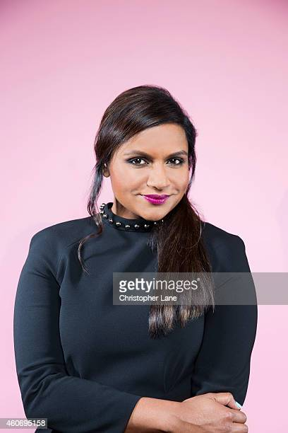 Actress Mindy Kaling is photographed at the 15th Annual New Yorker Festival on October 11 2014 in New York City