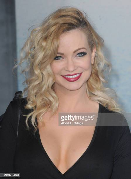 Actress Mindy Robinson arrives for the Premiere Of Warner Bros Pictures' 'Kong Skull Island' held at Dolby Theatre on March 8 2017 in Hollywood...