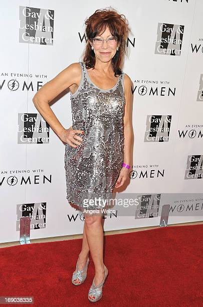 Actress Mindy Sterling arrives at the LA Gay Lesbian Center's 2013 'An Evening With Women' Gala at The Beverly Hilton Hotel on May 18 2013 in Beverly...