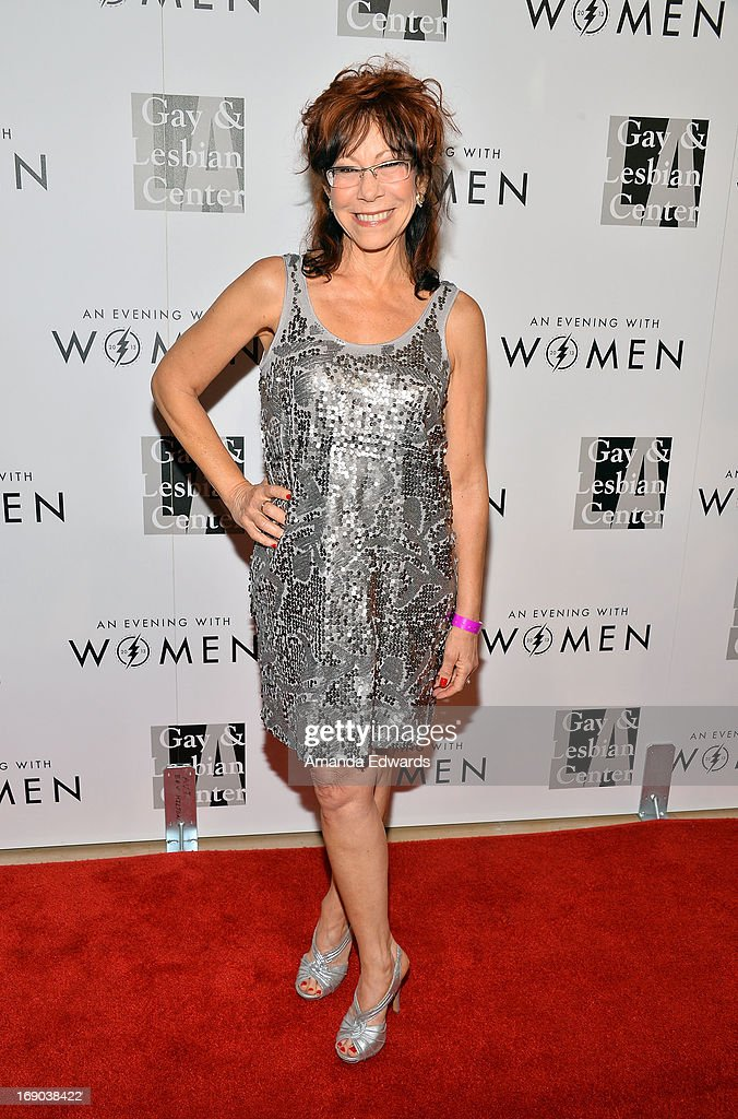 Actress Mindy Sterling arrives at the L.A. Gay & Lesbian Center's 2013 'An Evening With Women' Gala at The Beverly Hilton Hotel on May 18, 2013 in Beverly Hills, California.