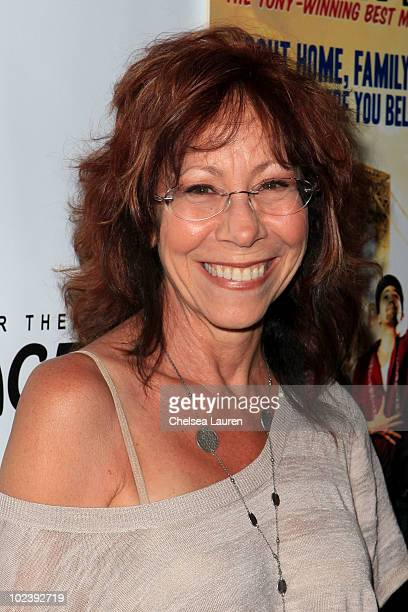 Actress Mindy Sterling arrives at the opening night of 'In The Heights' at the Pantages Theatre on June 23 2010 in Hollywood California
