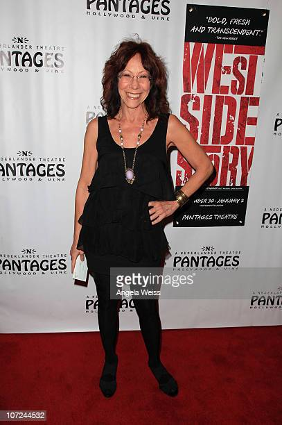 Actress Mindy Sterling attends the opening night of 'West Side Story' at the Pantages Theatre on December 1 2010 in Hollywood California